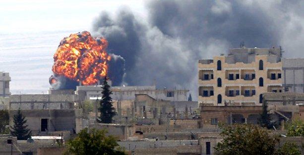 IŞİD Kobani'de sivilleri vurdu!