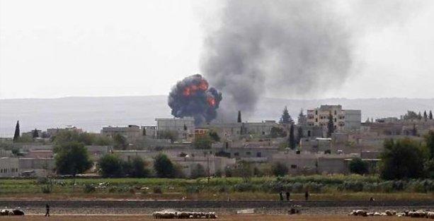 IŞİD Kobani'nin kuzeyinde intihar saldırısı düzenledi