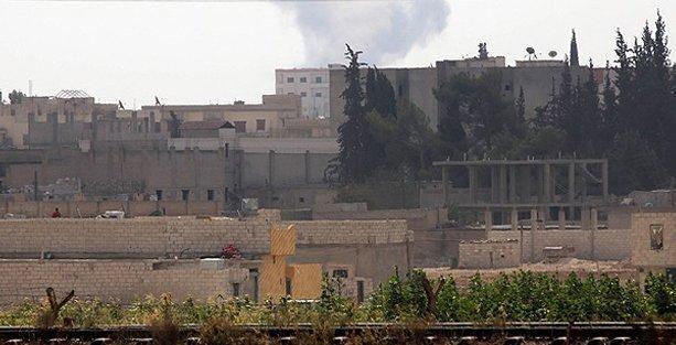 IŞİD Kobani'ye üç cepheden saldırıyor! Çatışmalar yoğunlaştı