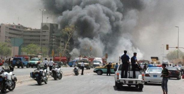 IŞİD savaş uçaklarınca bombalanıyor