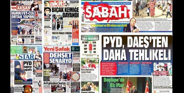 'IŞİD sevgisi' manşetlere taştı