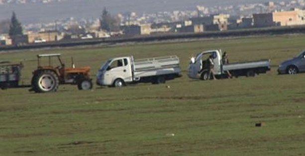 IŞİD sınırda görüntülendi, yine çok rahatlar!