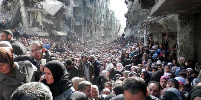 IŞİD, Suriye'deki Filistin mülteci kampına saldırdı!