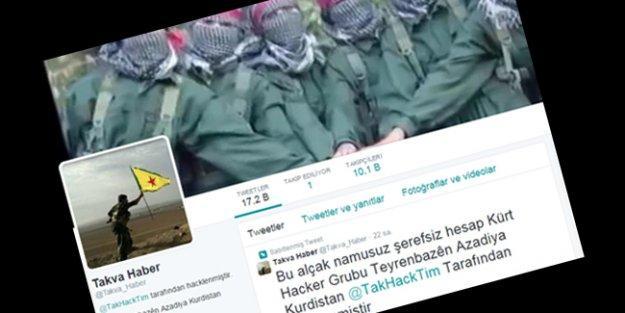 IŞİD'e sosyal medyada da operasyon: Takva Haber'in twitter hesabı hacklendi