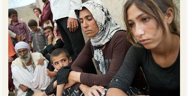 IŞİD'in katliamından kaçan Ezidiler anlattı
