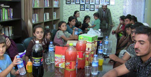 IŞİD'in katliamından kaçan Şengalliler Roboski'ye sığındı