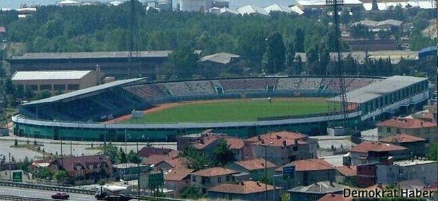 İsmetpaşa Stadı'nı yıkıp AVM yapacaklar