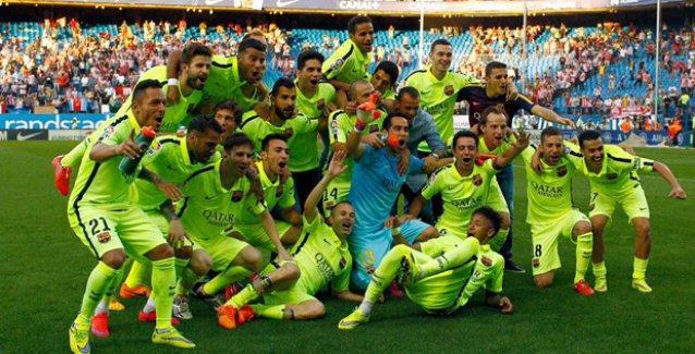 İspanya'da şampiyon Barcelona