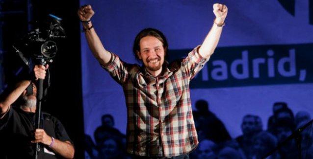 'İspanya'nın Syrizası' Podemos yerel seçimlerden güçlenerek çıktı
