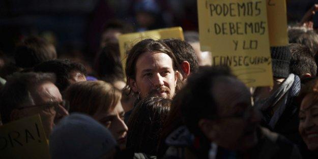 İspanya'da sol ittifak Podemos 'iktidara doğru'