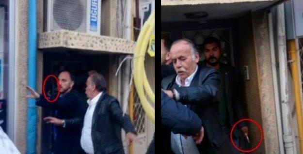 Isparta'daki Gezi anmasında saldırıya uğrayan HDP'lilere polis silah çekti!