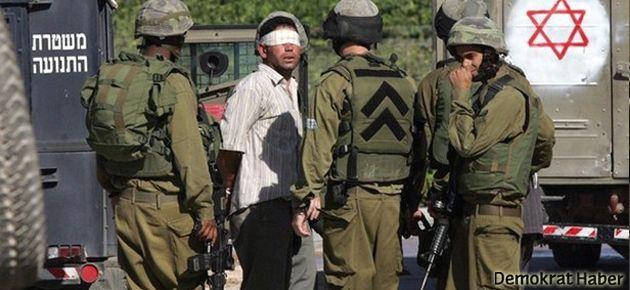 İsrail askerlerinden Filistinli öğrencilere müdahale