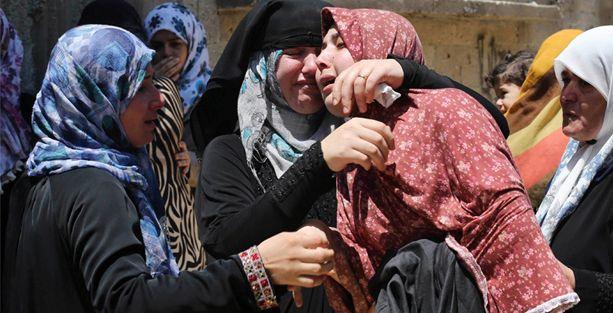 İsrail Gazze'de BM'ye ait bir okulu vurdu: En az 13 ölü