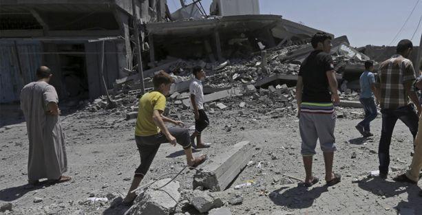 İsrail okulları vurdu