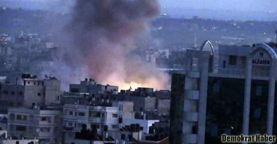 İsrail saldırılarında 4'ü çocuk 13 kişi öldü