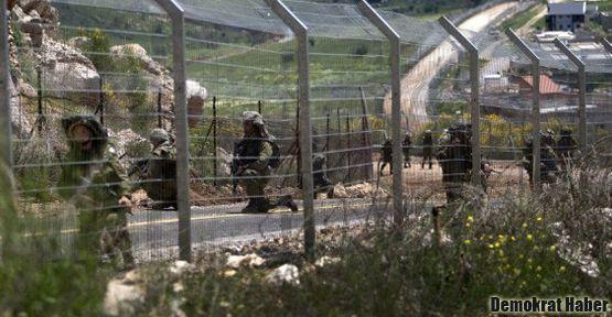 İsrail Suriye'ye uyarı ateşi açtı