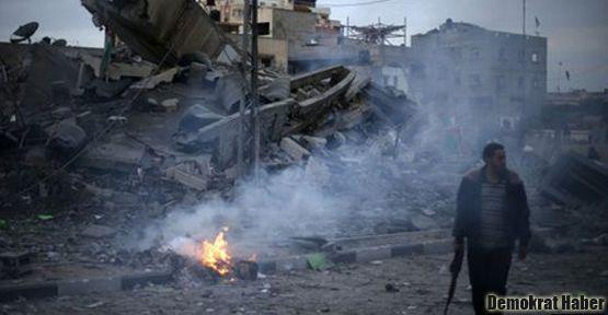 İsrail'den Gazze'ye ağır bombardıman