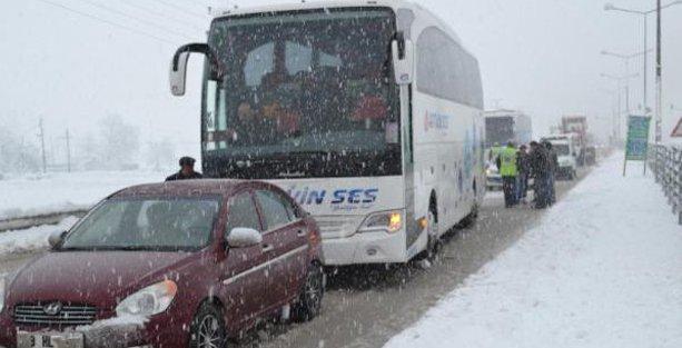 İstanbul-Ankara yolu yine kapandı