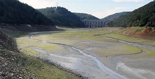 İstanbul barajlarının yüzde 70'i hala boş