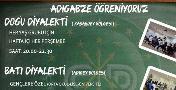 İstanbul Çerkes Derneği Çerkesce kursları başlattı
