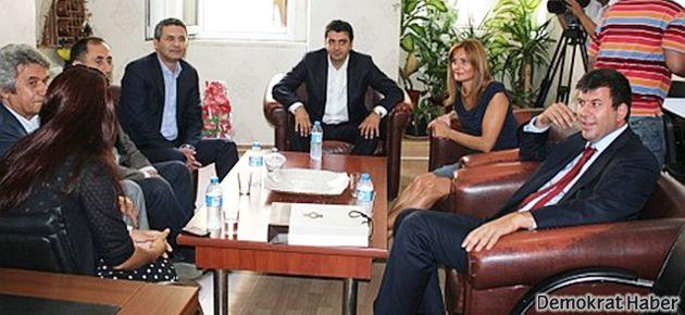 İstanbul CHP'den BDP'ye ziyaret