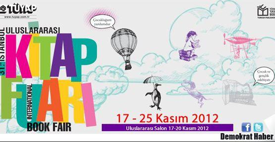İstanbul Kitap Fuarı yarın başlıyor