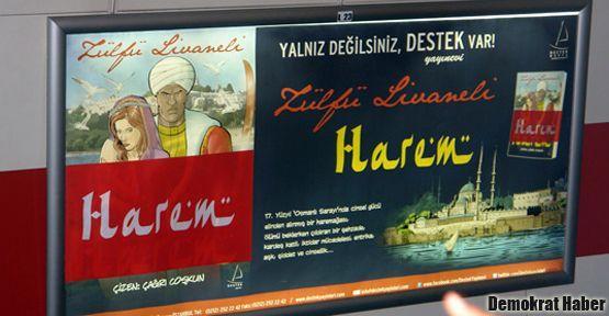 İstanbul Metrosunda çizgi roman sansürü