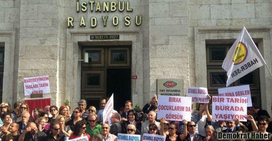 İstanbul Radyosu'nda eylem