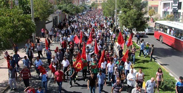 İstanbul ve Diyarbakır'da 'IŞİD' protestosu