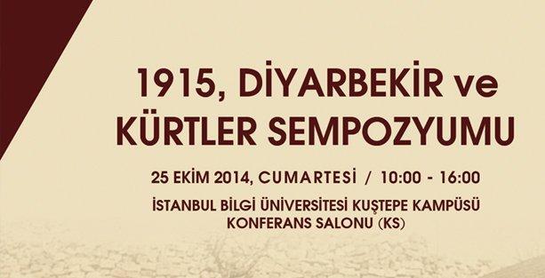 İstanbul'da '1915 Diyarbakır ve Kürtler' sempozyumu