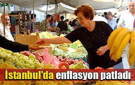 İstanbul'da enflasyon patladı