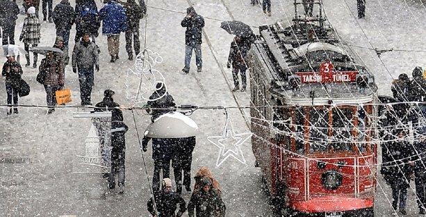 Meteoroloji'den İstanbul için 'kar saati' açıklaması