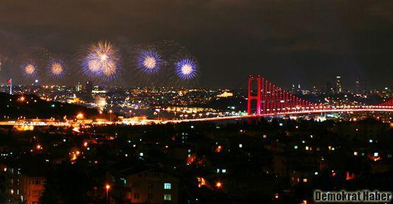 İstanbul'da havai fişek atımı yasaklandı