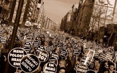 İstanbul'da Hrant Dink anması