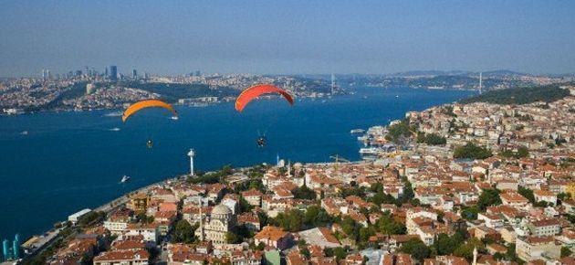İstanbul'da uçuş da yasak