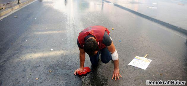 İstanbul'daki 1 Mayıs'ta 14 ton gazlı su sıkılmış