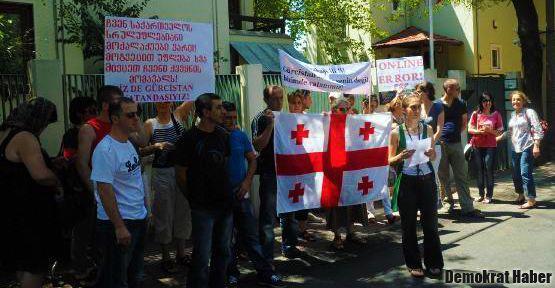 İstanbul'daki Gürcüler 'oy hakkı' istedi