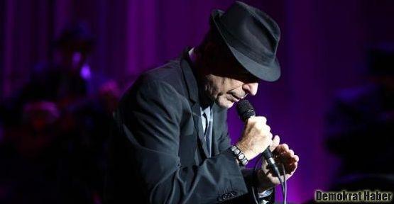 İstanbul'dan Leonard Cohen geçti