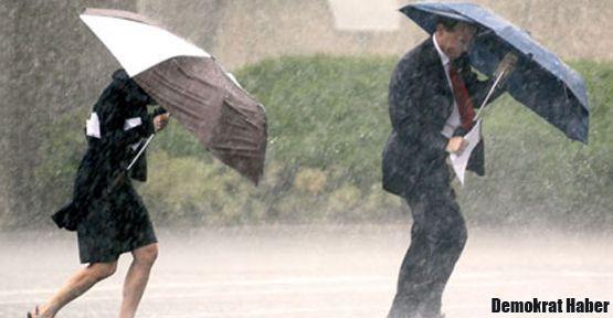 İstanbul'un batı ilçelerine yağış uyarısı!