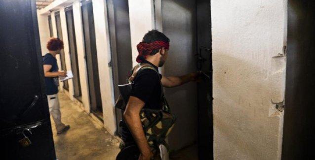 İşte IŞİD'in Tel Abyad'daki işkencehaneleri ve ölüm hücreleri
