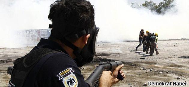 İşte polisin 20 günde kullandığı gaz bombası miktarı