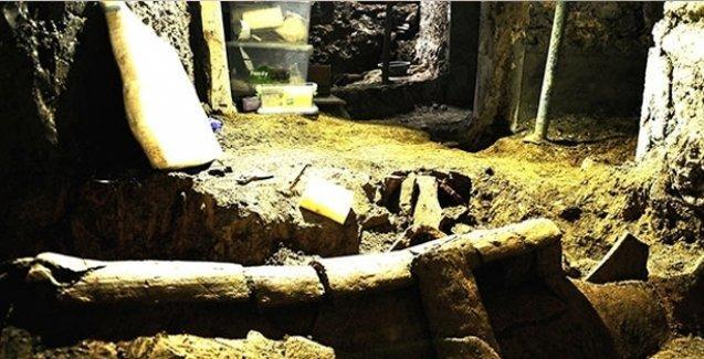 İstiklal Caddesi'nin altında 1500 yıllık Bizans mezarları bulundu