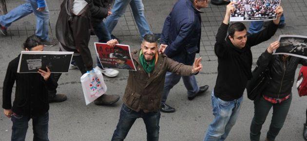 İstiklal'de 500 insan 500 fotoğraf