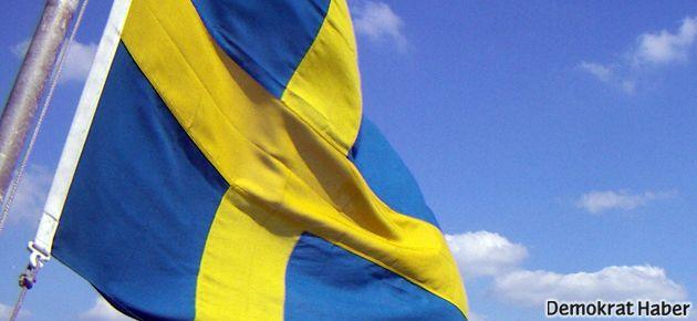 İsveç Büyükelçiliklerinde Suriyeli kuyruğu