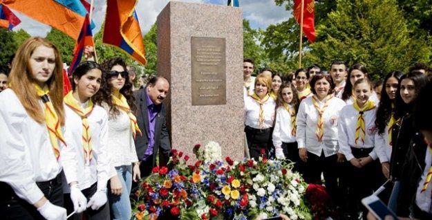 İsveç'in Örebro iline soykırım anıtı dikildi