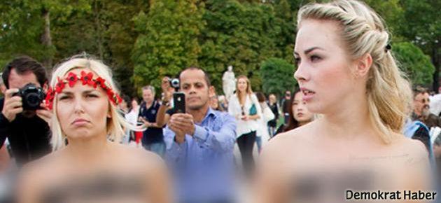 İsveç'te kadın eylemleri büyüyor