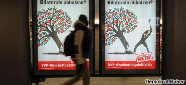 İsviçre göçmenlere 'sınırlama' istedi AB uyardı