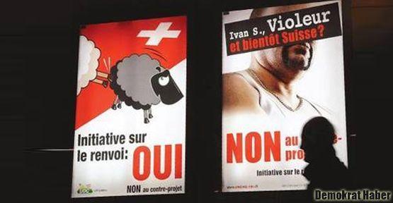 İsviçre'de yabancı düşmanlığı artıyor