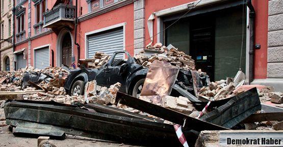 İtalya'da deprem 1 can aldı