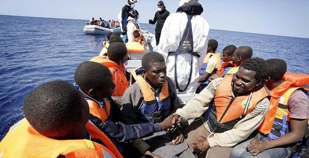 İtalya'da göçmen  dramı